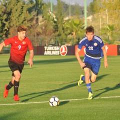 Türkei U19 qualifiziert sich in die U19 EM Elite Runde 2018